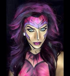 Argenis Pinal transforms himself and his models into superheroes and Marvel comic characters. Argenis relies solely on the magic of makeup to transform himself into the heroes we read about. Don't believe these aren't drawings? Woman Comic.