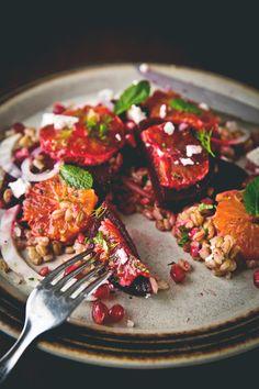 #salad photographed by Sophia van den Hoek