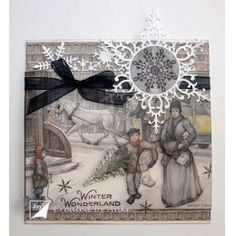 Christmas with Anton Pieck Winter Christmas, Christmas Crafts, Anton Pieck, September, Joy, Frame, Cards, Collection, Decor