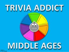 """Trivia Addict (Middle Ages) Common Core Version from Mr. Fairbanks Trivia Addict on TeachersNotebook.com - (4 pages) - Looking for """"TRIVIA CRACK"""", look no more! This is an awesome interactive Power Point Template that allows you to review with your students like never before. It is """"TRIVIA ADDICT!"""" Renaissance And Reformation, Trivia Crack, Classroom Games, Helping Children, Brain Teasers, Middle Ages, Kids Learning, Addiction, Core"""