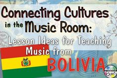 Organized Chaos: Teacher Tuesday: Bolivian music in elementary music class. a children's song to sing, folk dance / movement activity, instruments, DIY panpipes craft, teach quarter notes, paired eighth notes, A and B sections