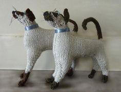 knitted & stuffed Tonk