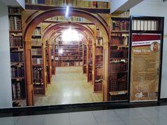 Kütüphane Duvar Giydirmesi