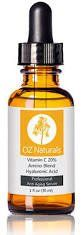 Excellent OZ Naturals (1 Oz.) - THE BEST Vitamin C Serum For Your Face - Organic Vitamin C   Amino   Hyaluronic Acid Serum- Clinical Strength 20% Vitamin C with Vegan Hyaluronic Acid Leaves Your Skin Radiant and More Youthful By Neutralizing Free Radicals. This Anti Aging Serum Will Finally Give You The Results You've Been Looking For! >>> Continue to the product at the image link.