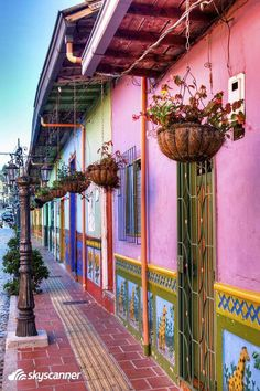 Inspiration: The colors of Guatape, Colombia. Visit Colombia, Colombia Travel, Ushuaia, Best Places To Retire, Places To Go, San Andreas, Colourful Buildings, South America Travel, Chile