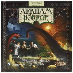Arkham Horror Miskatonic Horror Expansion * Read more  at the image link.Note:It is affiliate link to Amazon.
