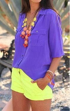 KAY TAN SF Fab Finds: Purple and Neon
