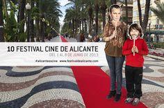 Gráficas molonas para el X Festival de Cine de Alicante.
