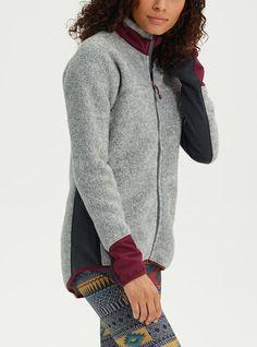Shop the Women s Burton Minturn Full-Zip Fleece along with more fleece  pullovers 30f45c74e3452