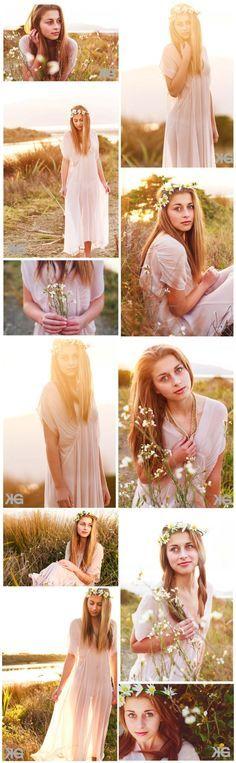 senior shoot in the feild (VSCO edit Style)