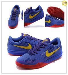 Nike Zoom Kobe Mentality Purple / yellow / red 704942-500 For Wholesale