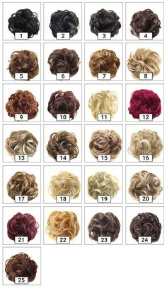 The GlamTouché Elastic Messy Bun Hairpiece is the perfect accessory for any hair color, length, or texture, creating the look of instant volume and limitless styles. Messy Curly Bun, Curly Hair Updo, Messy Bun Hairstyles, Curly Hair Styles, Bun Hair Piece, Hair Pieces, Professional Updo, Perfect Messy Bun, Knot Bun