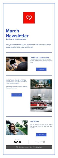 March Newsletter Check out all the latest updates Train Car, Latest Updates, Car Rental, March, Learning, Check, Travel, Viajes, Studying