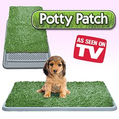 """""""your pet can go anytime without having to leave the home or apartment. Make life easier with this comfortable three-tier alternative to frequent outdoor trips. Top layer of artificial grass lets liquid flow through, second tier grate keeps grass dry, bottom collection tray holds up to a gallon of liquid for multiple uses."""" THe mind boggles on the uses!"""