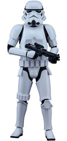Figura soldado Stormtrooper 30 cm. Rogue One: A Star Wars Story. Línea Movie Masterpiece. Escala 1:6. Hot Toys  Estupenda figura de 30 cm de altura del soldado Stormtrooper que podemos ver en la película de 2016 Rogue One: A Star Wars Story, con accesorios, más de 30 puntos de articulación y 100% oficial y licenciada.