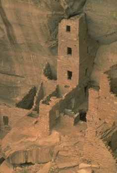 SQUARE TOWER HOUSE - MESA VERDE | The Ancient Pueblo people were a Native American culture also known as Anasazi, but descendents of the people prefer not to be called that. They are the ancestors of modern Pueblos. Their culture dates back to 1200 B.C.