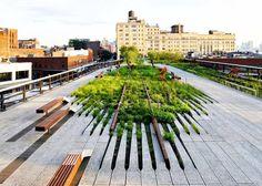 High Line Elevated #Park #Paisajismo