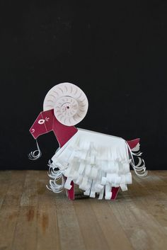 Paper Toys for the Chinese New Year – faltmanufaktur-Tina Kraus