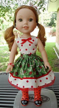 "14.5"" Doll Clothes For American Girl Wellie Wishers Willa, Ashlyn, Camille, Kendall, Emerson"