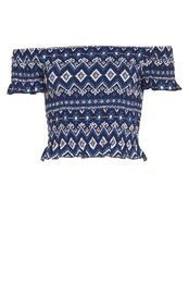 Shirr Me Up Woven Off Shoulder Top from Factorie R199,50