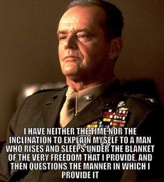 A Few Good Men Military Quotes, Military Humor, Military Life, Military Post, Military Ranks, Usmc Quotes, Men Quotes, Marine Corps Humor, Us Marine Corps