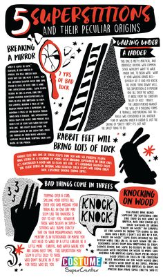 5 Ever-Popular Superstitions and How They Started - Infographic