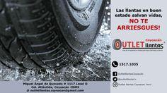 Recuerda, tú seguridad es primero. Aprovecha nuestras promociónes!! Outlet llantas Coyoacán 15171035