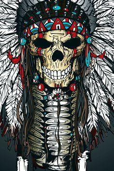 War bonnet - print в 2019 г. Native American Tattoos, Native American Artwork, Body Art Tattoos, Sleeve Tattoos, Indian Skull Tattoos, Small Skull Tattoo, Headdress Tattoo, Tattoos Realistic, Western Saloon