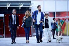 Call My Agent, Turkish Actors, Coat, Jackets, Fashion, Down Jackets, Moda, Sewing Coat, Fashion Styles