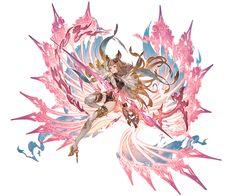 Character Concept, Character Art, Concept Art, Character Design, Granblue Fantasy Characters, Anime Elf, Anime Warrior, Anime Princess, Beautiful Anime Girl