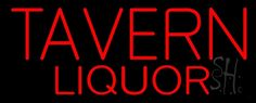 Tavern Liquor Neon Sign
