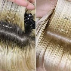 DIY Hair: How to Use Wella Color Charm Toner - You are in the right place about DIY Hair Color hacks Here we offer you the most beautiful pictures about th Toning Blonde Hair, Toner For Blonde Hair, Blonde Hair With Roots, Dyed Blonde Hair, Hair Dye, Toner For Bleached Hair, Blonde Hair Without Bleach, Toner For Orange Hair, Yellow Blonde Hair