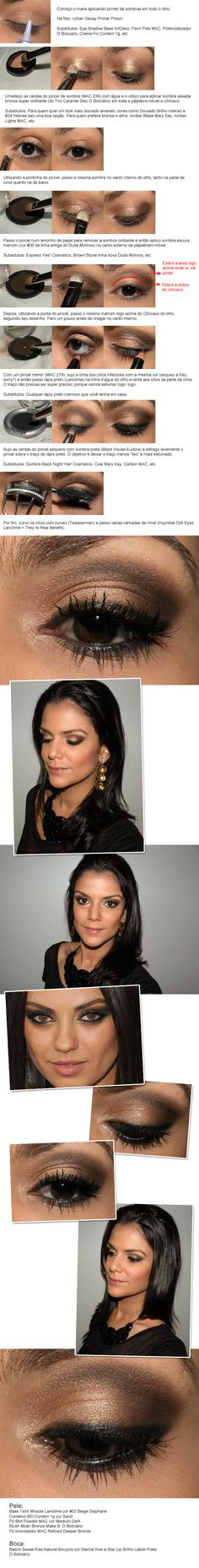 Mila Kunis makeup by marina smith