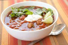 Smokin' Hot Brisket Chili Recipe