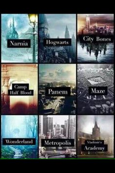I'd pick Camp Half-Blood. But also the city of bones is where the silent brothers live, not all shadowhunters (because they're everywhere in the world)...if you had to put only one place for that fandom, it should probably be Idris.