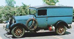 1927 Graham Brothers Panel Truck