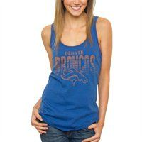 Denver Broncos Womens Touchdown Tank Top #Fanatics