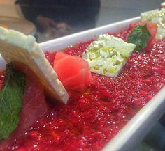 קרם סלק טונה אדומה נענע וצפתית.... #instagram #elbarbas #vivalabarda #bardacoa #picanha #churrasco #carne #amigos #familia  #premium #Angus #delicia #parrilla #carnes #ancho #brahma #instafood #foodporn #foodgram #likeforlike #like4like #instamood #food #foodie  #tuna #tataki #China #chef #chefworld ן by 144amit