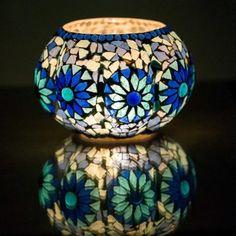 Oosterse waxinehouder | Mozaïek | Blauw | Arabische verlichting | Marokkaans | Interieur Vase, Bedroom, Design, Home Decor, Morocco, Room, Flower Vases, Bedrooms, Interior Design