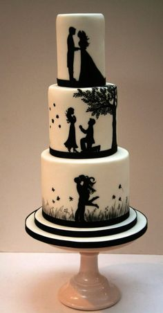 66 Awesome Simple Wedding Cake Ideas Inspirations - Hochzeitstorte I… - Wedding Cakes - Torten Amazing Wedding Cakes, Elegant Wedding Cakes, Wedding Cake Designs, Wedding Cake Toppers, Rustic Wedding, Cake Wedding, Trendy Wedding, Wedding Shoes, Wedding Rings