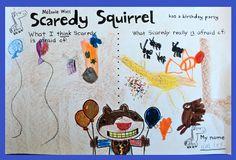 www.gradeONEderful.com Scaredy Squirrel Freebie