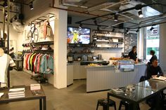 Rapha: Cool cycling apparel with great espresso - London thru Cafes