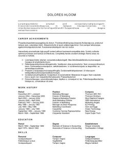 Google Docs Resume Template   HttpWwwJobresumeWebsite