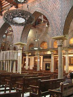 The Coptic church, Cairo..