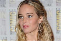 Jennifer Lawrence au Comic-Con, en juillet 2015