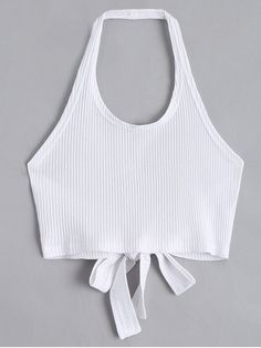 Spring and Summer Standard Criss-Cross Solid Halter Short Fashion Halter Criss Cross Ribbed Crop Top - White Standard Criss-Cross Solid Halter Short Fashion Halter Criss Cross Ribbed Crop Top Source by mariefehler - Crop Tops For Kids, Summer Crop Tops, Cute Crop Tops, Black Crop Tops, Tank Tops, Teen Crop Tops, Summer Shorts, Crop Top Styles, Ribbed Crop Top