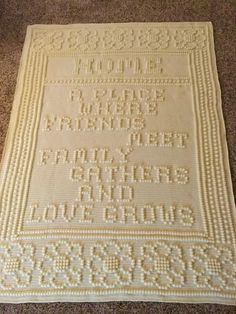 Transcendent Crochet a Solid Granny Square Ideas. Inconceivable Crochet a Solid Granny Square Ideas. Granny Square Crochet Pattern, Crochet Squares, Crochet Granny, Granny Squares, Afghan Crochet Patterns, Crochet Stitches, Crochet Afghans, Bobble Stitch Crochet Blanket, Crochet Blankets