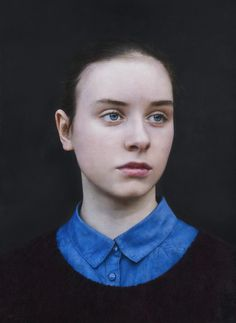 Eliza painting by Michael Gaskell.