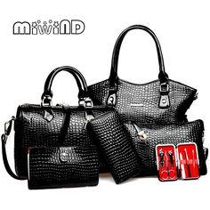 Cheap bolsa feminina, Buy Quality brand leather handbag directly from China  designer leather handbags Suppliers  2017 New Women bag Leather Handbags  Fashion ... 632aa041e1