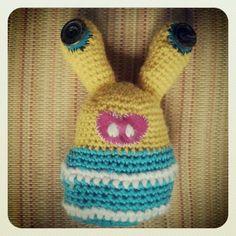 Crochet alien creature